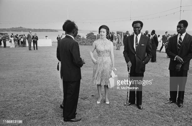Princess Margaret Countess of Snowdon during her official visit to Uganda 15th March 1965