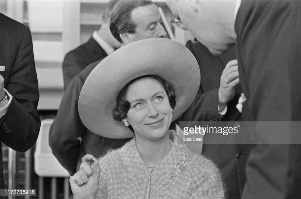 Princess Margaret Countess of Snowdon visits the Royal Asscher Diamond Company in Amsterdam Netherlands 19th May 1965