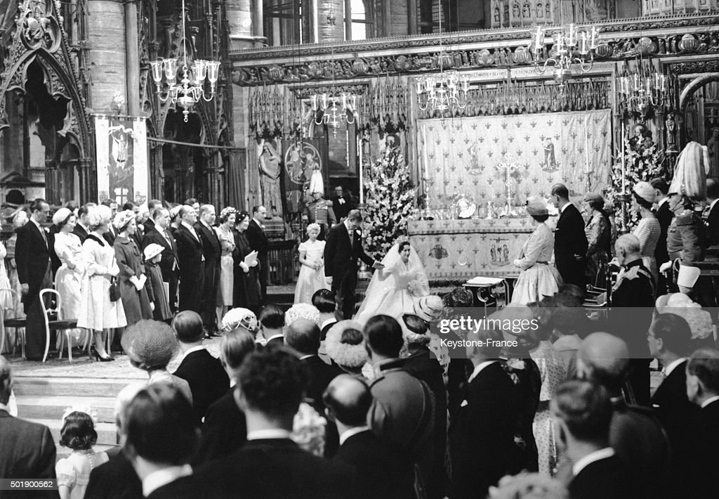 Wedding Of Princess Margaret With Antony Armstrong Jones At Westminster Abbey : News Photo