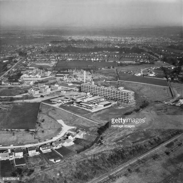 Princess Margaret Hospital Swindon Wiltshire 1963 Opened in 1966 the hospital closed in 2002 and has since been demolished It was the first large...
