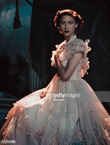 8/17/1949 Princess Margaret of England UPI color photo