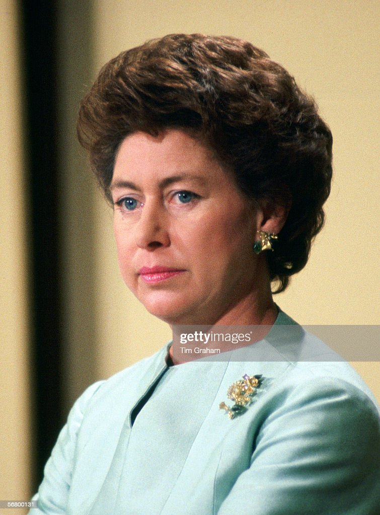 Princess Margaret Day Of Divorce : News Photo