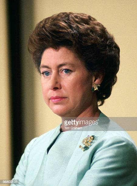 Princess Margaret on the day of her divorce from her husband Lord Snowdon.