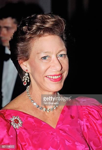 Princess Margaret Patron Of The Nspcc At Oscar De La Renta Fashion Show London