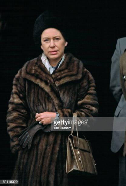 Princess Margaret Visiting The Royal Highland Fusiliers In West Germany She Is Their Colonelin chief