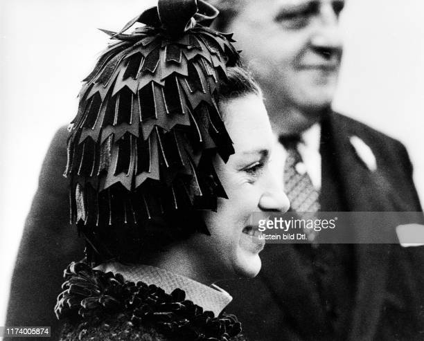 Princess Margaret with hat