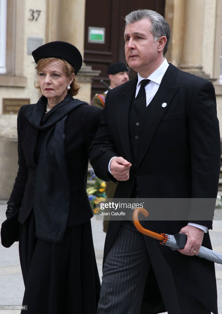 Funerals of Grand Duke Jean of Luxembourg : News Photo