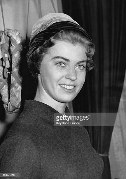 Princess Margaretha of Sweden on May 06, 1957 in London, United Kingdom.