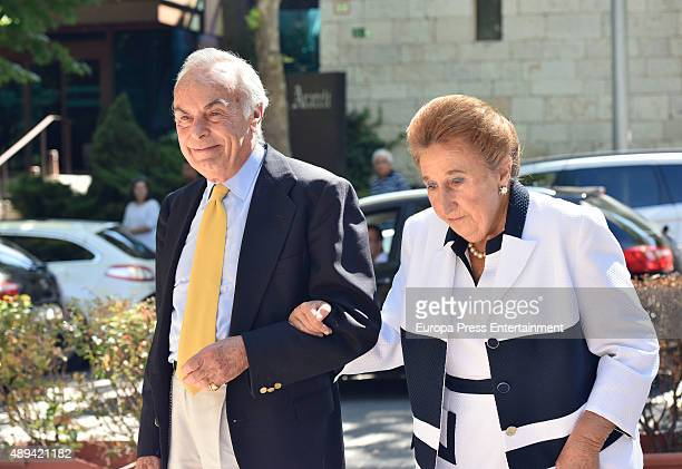 Princess Margarita and Carlos Zurita attend Maria Zurita's 40 birthday on September 20 2015 in Madrid Spain