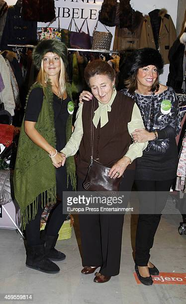 Princess Margarita attends 'Rastrillo Nuevo Futuro' on November 24 2014 in Madrid Spain