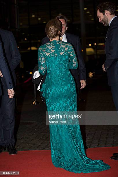 Princess Margarita de Bourbon de Parme attend a celebration of the reign of Princess Beatrix on February 1 2014 in Rotterdam Netherlands