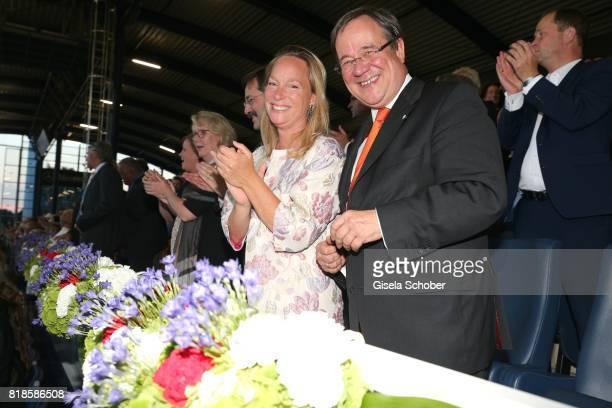Princess Margarita de Bourbon de Parme, cousin of Willem Alexander of the Netherlands and Armin Laschet, Prime Minister of North Rhine-Westphalia...