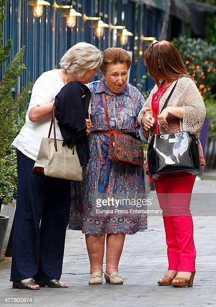 Princess Margarita is seen on June 15 2015 in Madrid Spain