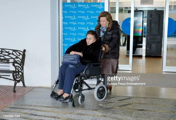 Princess Margarita of Spain is seen on January 19 2020 in Madrid Spain