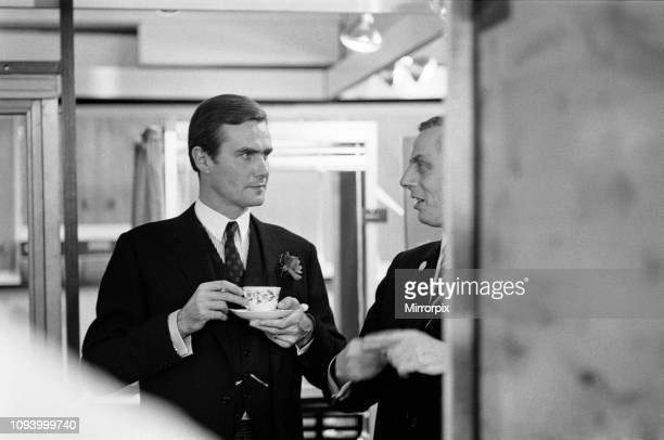 Princess Margrethe of Denmark and her husband Prince Henrik are visiting the Danish Food Centre in Manchester during the 'Denmark in Britain 68'...