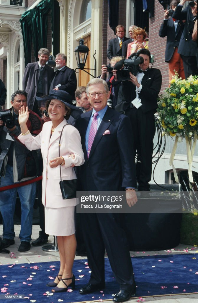 THE HAGUE: WEDDING OF PRINCE CONSTANTIJN : Nieuwsfoto's