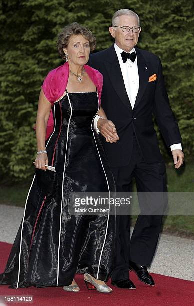 Princess Margriet Of Holland Pieter Van Vollenhoven Attend The Silver Wedding Anniversary Celebrations Of Grand Duke Henri Grand Duchess MariaTheresa...