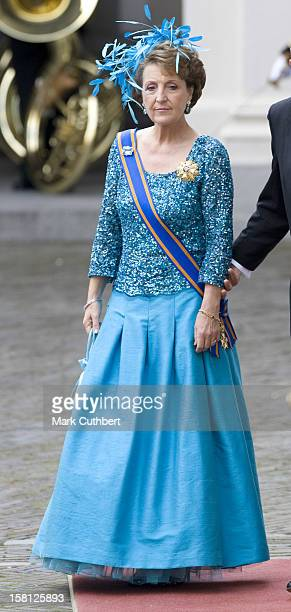 Princess Margriet Of Holland With The Rest Of The The Dutch Royal Family At Noordeinde Palace In Den Haag During The Prince'S Day Celebrations.