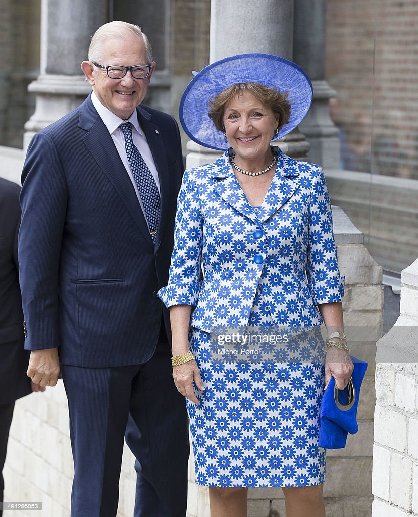 King Willem-Alexander of The Netherlands and Queen Maxima of The Netherlands at Four Freedoms Awards in Middelburg : News Photo