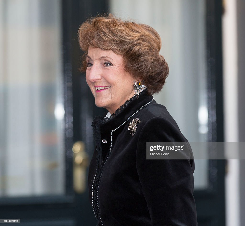 Princess Margriet of The Netherlands arrives for festivities marking the final celebrations of 200 years Kingdom of The Netherlands on September 26, 2015 in Amsterdam, Netherlands