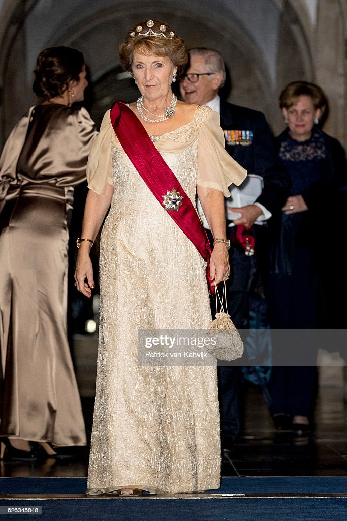 Queen Mathilde of Belgium and King Philippe of Belgium On A 3 Day Official Visit In Holland : Day One : News Photo