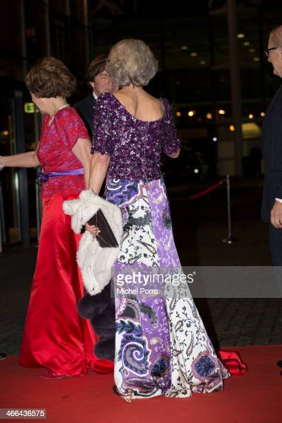Princess Margriet of The Netherlands Pieter van Vollenhove and Princess Irene of The Netherlands attend a celebration of the reign of Princess...