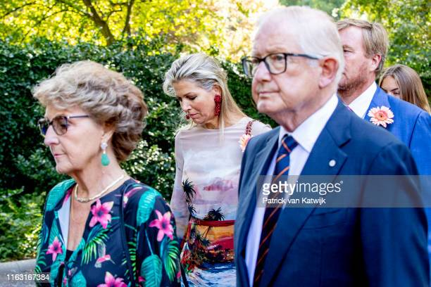 Princess Margriet of The Netherlands Pieter van Vollenhoven Queen Maxima of The Netherlands and King WillemAlexander of The Netherlands attend the...