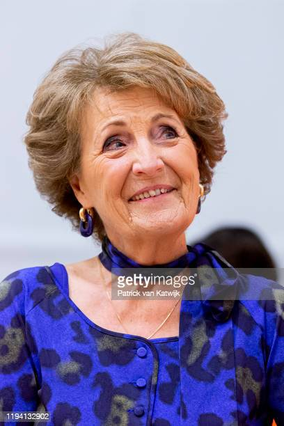 Princess Margriet of The Netherlands visits the Military Rehabilitation Center Aardenburg and meets the athletes of the Dutch Team for the Invictus...
