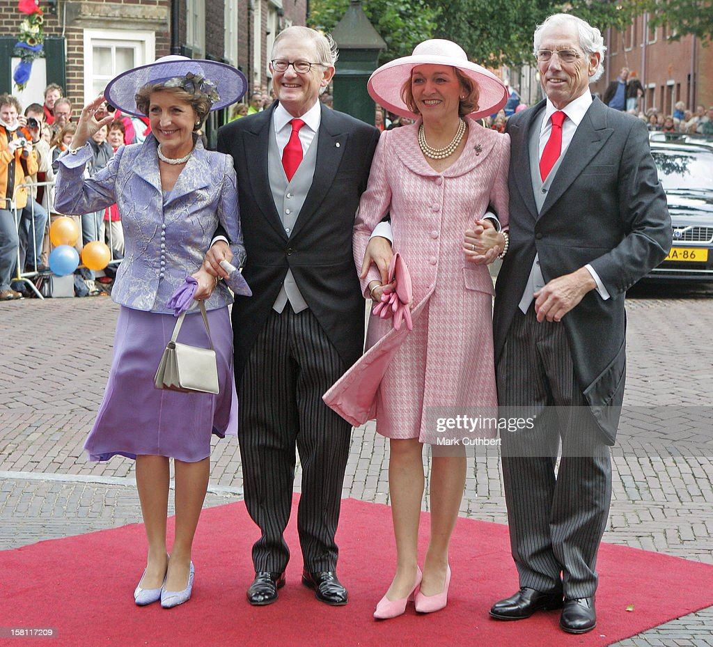 The Wedding Of Prince Floris & Aimee Sohngen At The Grote Kerk In Naarden : News Photo