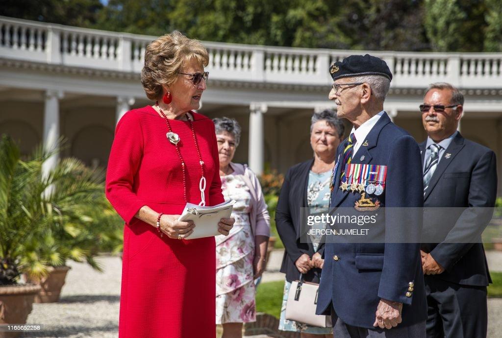 NETHERLANDS-CANADA-ROYAL-VETERAN-WWII : News Photo