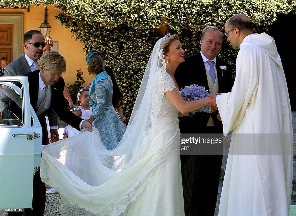 Princess Maria Carolina de Bourbon-Parme : News Photo