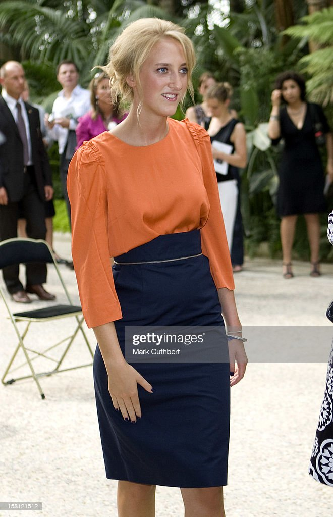 Princess Maria Laura Joins With Other Members Of The Belgian Royal Family To Celebrate 15 Years Of King Albert Ii Reign At Laeken Chateau In Brussels, Belgium.