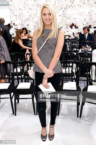 Princess Maria Olympia of Greece attends the Christian Dior show as part of Paris Fashion Week Haute Couture Fall/Winter 20142015 Held at Musee Rodin...