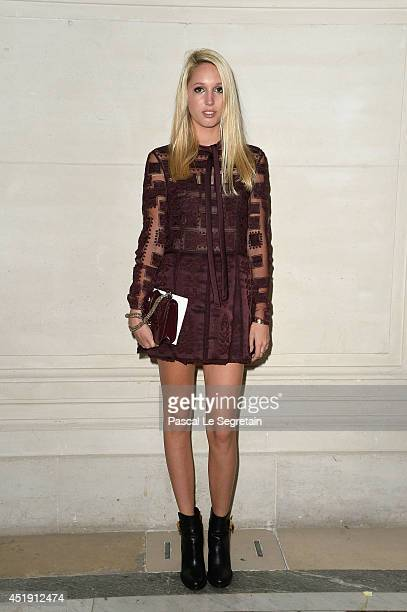 Princess Maria Olympia of Greece attends the Valentino show as part of Paris Fashion Week Haute Couture Fall/Winter 20142015 at Hotel Salomon de...