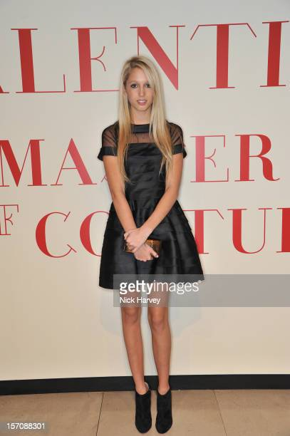 Princess Maria Olympia of Greece attends the VIP view of Valentino Master of Couture at Embankment Gallery on November 28 2012 in London England