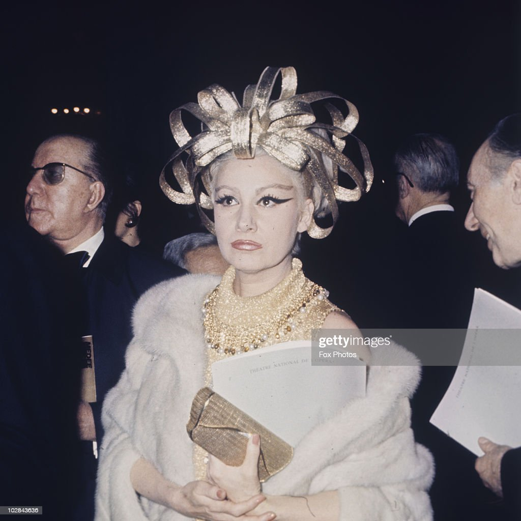 Princess Maria Pia of Savoy attending the premiere of the opera 'Medee', in Paris, France, 1973. Princess Maria Pia of Savoy is the eldest daughter of King Umberto II, former King of Italy.