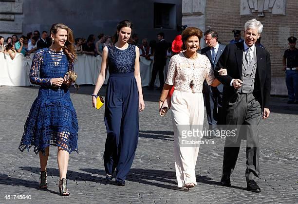 Princess Maria-Anunciata of Liechtenstein, Maria Astrid of Liechtenstein, Princess Margaretha of Liechtenstein and Prince Nikolaus of Liechtenstein...