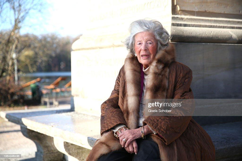 Princess Marianne zu Sayn-Wittgenstein-Sayn Portrait Shooting In Munich : News Photo