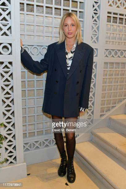 Princess Maria-Olympia of Greece and Denmark attends the Dior Sessions book launch on October 01, 2019 in London, England.