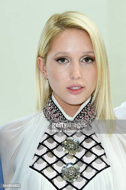 Princess MariaOlympia of Greece and Denmark attends the Giambattista Valli Haute Couture Fall/Winter 20162017 show as part of Paris Fashion Week on...
