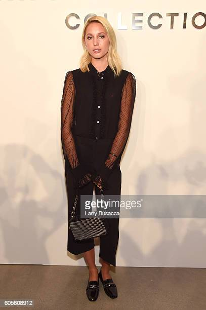 Princess MariaOlympia of Greece and Denmark attends the Michael Kors Spring 2017 Runway Show during New York fashion week at Spring Studios on...