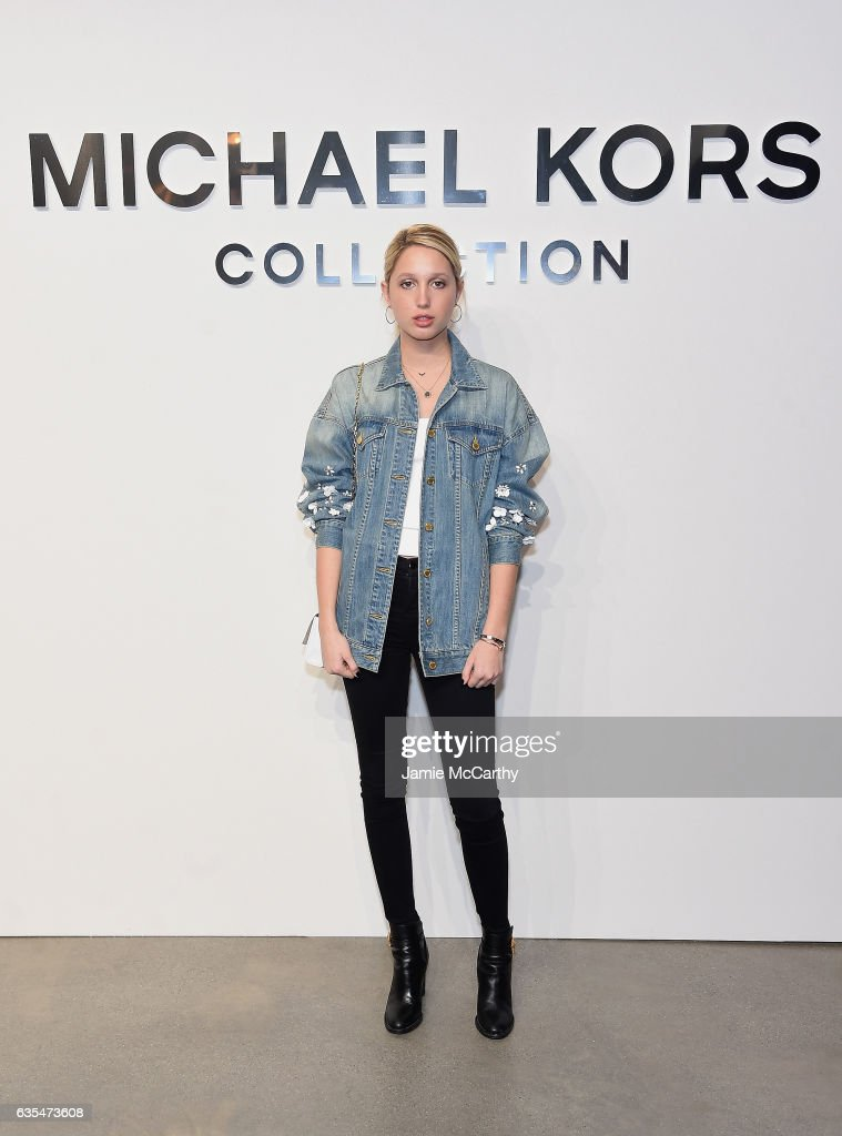 Michael Kors Collection Fall 2017 Runway Show - Front Row : News Photo