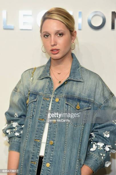 Princess MariaOlympia of Greece and Denmark attends the Michael Kors Collection Fall 2017 runway show at Spring Studios on February 15 2017 in New...