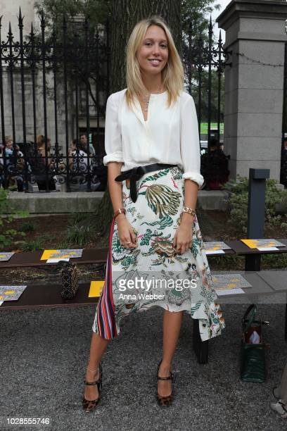 Princess MariaOlympia of Greece and Denmark attends the Tory Burch Spring Summer 2019 Fashion Show at Cooper Hewitt Smithsonian Design Museum on...