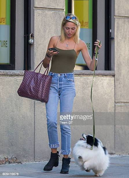 Princess MariaOlympia of Greece and Denmark is seen on September 20 2016 in New York City