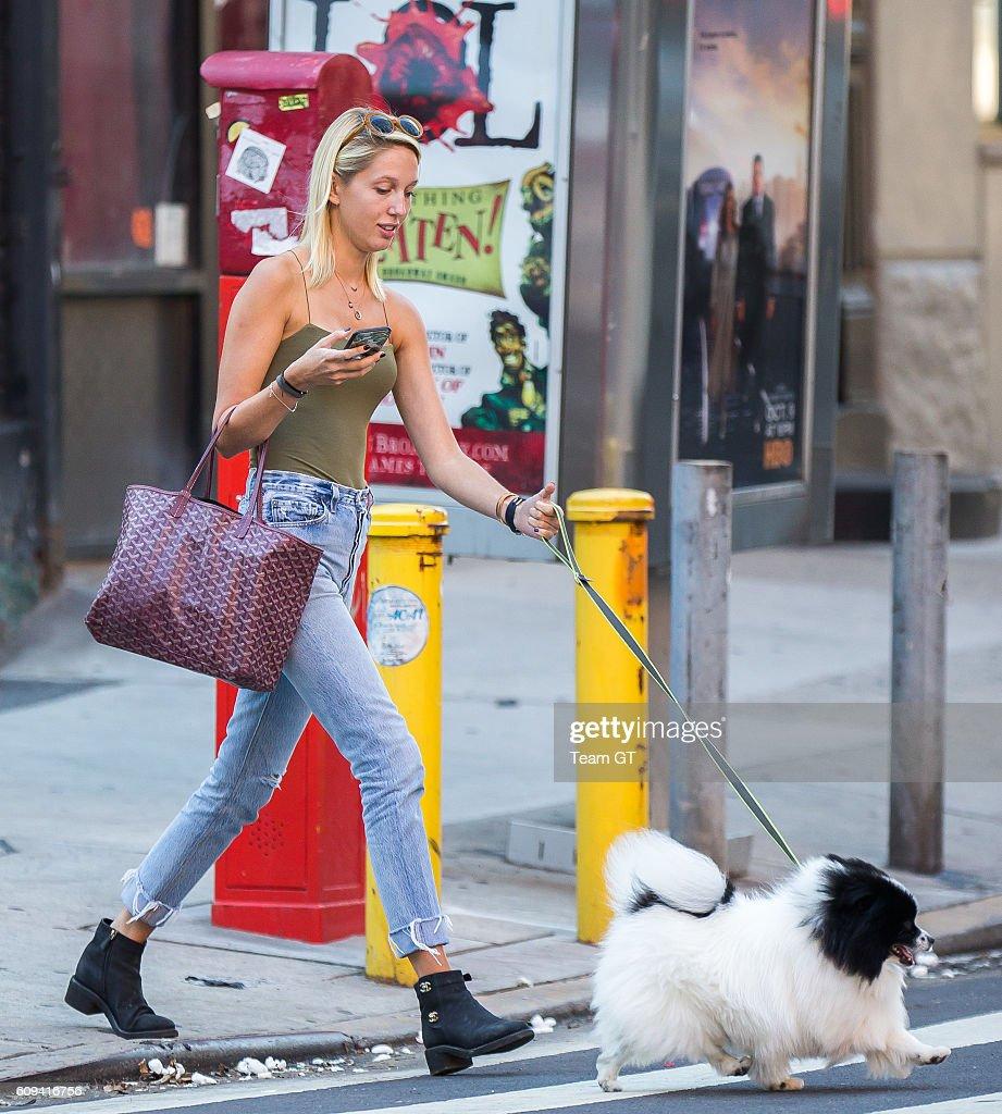 Celebrity Sightings in New York City - September 20, 2016 : News Photo
