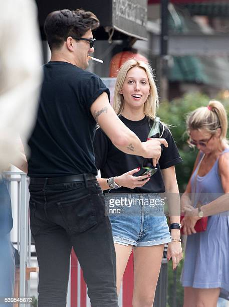 Princess MariaOlympia of Greece and Denmark seen outside Cha Cha Matcha with a friends on June 11 2016 in New York City