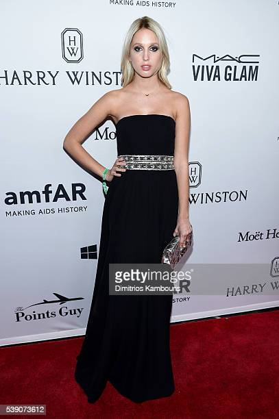 Princess MariaOlympia of Greece attends the 7th Annual amfAR Inspiration Gala at Skylight at Moynihan Station on June 9 2016 in New York City