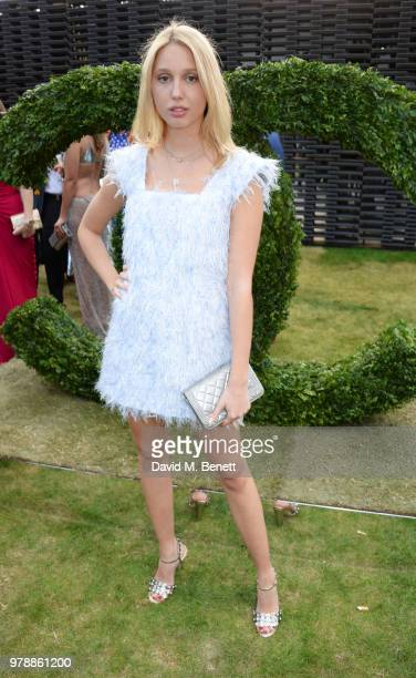 Princess MariaOlympia of Greece attends the annual summer party in partnership with Chanel at The Serpentine Pavilion on June 19 2018 in London...
