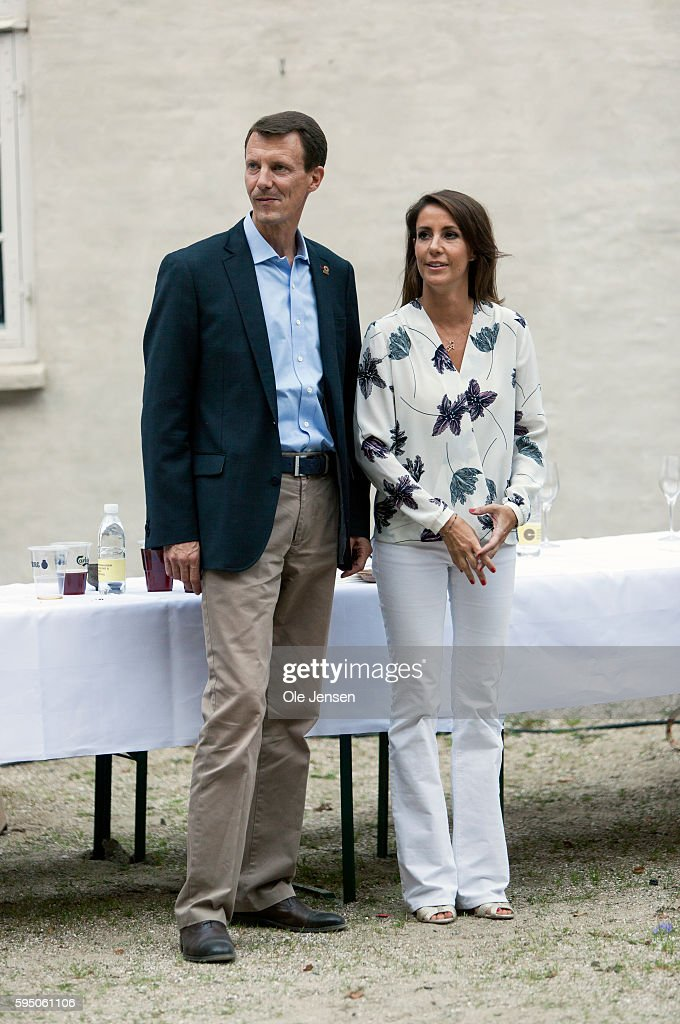 Danish Princess Marie And Prince Joachim Join Hands In Charity Event During Copenhagen Cooking And Food Festival. : News Photo